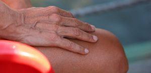 باد کردن رگ دست بعلت اختلال در گردش خون