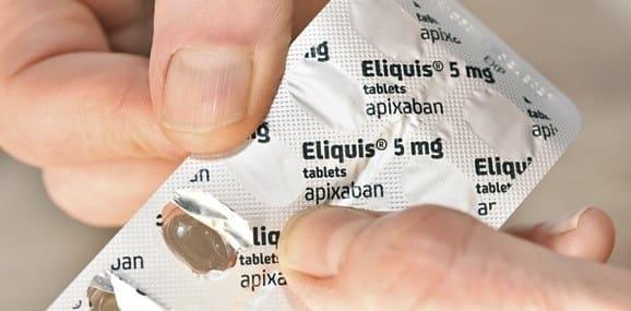 مصرف آپیکسابان در کنار سایر داروها