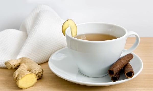 چای زنجبیل برای کاهش لختهشدن خون
